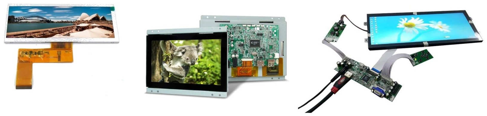 low cost TFT range Small Format TFT