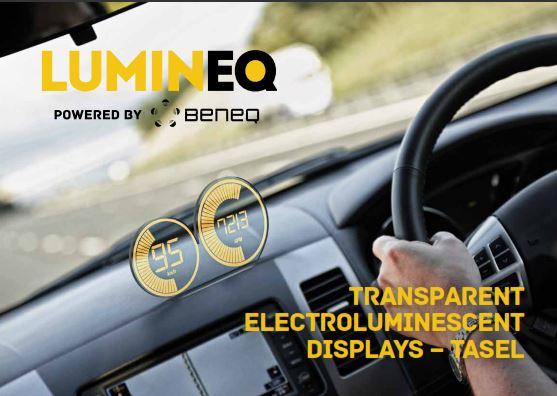 lumineq brochure beneq lumineq transparent displays EL electroluminecent Display