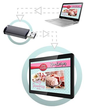 10 inch plug & play Shelf Edge 10inch POS Digital Signage Displays
