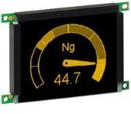 The EL 160.120.39 Series 3.1″ Lumineq TFEL Module
