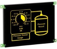 The EL 320.240.36 Series 5.7″ Lumineq TFEL Module