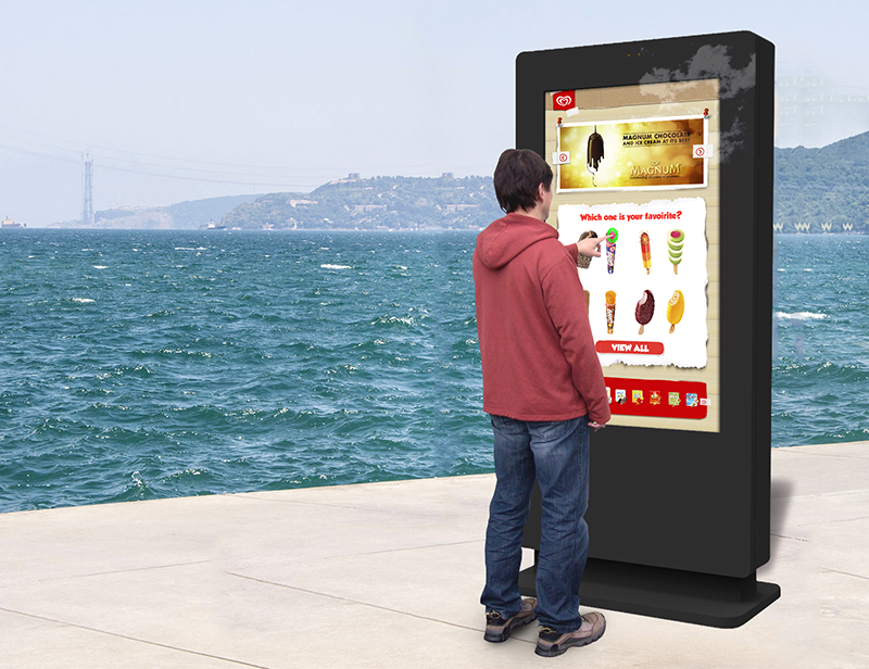 Outdoor Freestanding Multi Touch Screen Posters from CDS