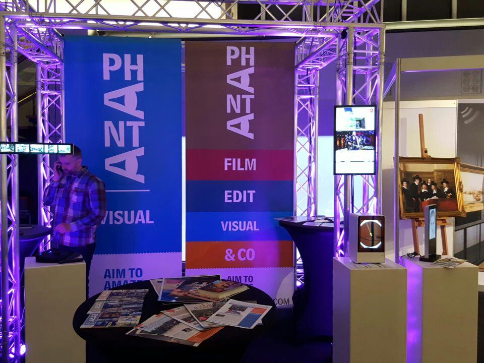 Phanta Visual Amaze at the Museum Vakdagen Show