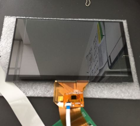 Small Transparent 7 Inch LCD with PCAP Touch