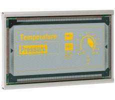 The EL 512.256-H Series 8.6″ Lumineq TFEL Module