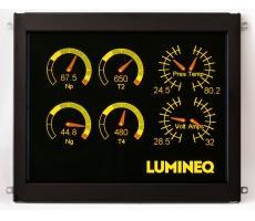 The EL 640.480-AA1 10.1″ Lumineq TFEL Module