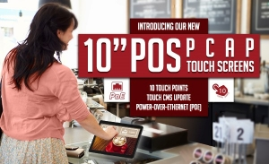 NEW 10 inch POS PCAP Touch Screen Launched