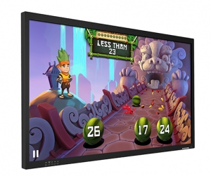 LOW COST 84 inch 4K Monitor Display with Integrated Touch