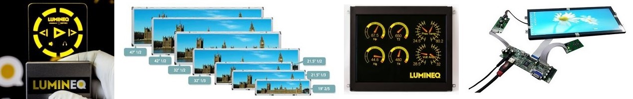 The Widest Range of Industrial Displays in Europe
