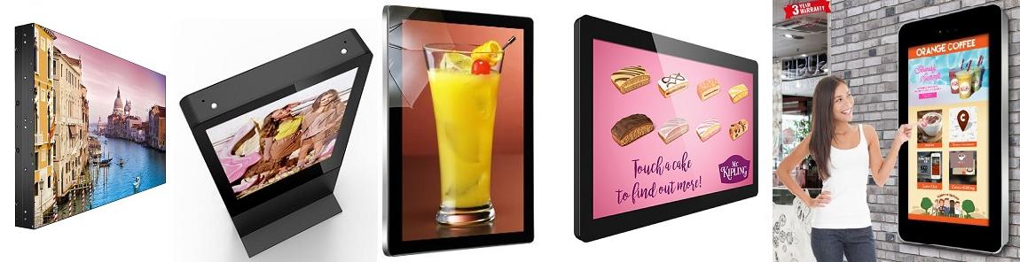 digital advertising displays