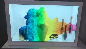 CDS Intros Killer Transparent LCD Panels for Retail Showcases