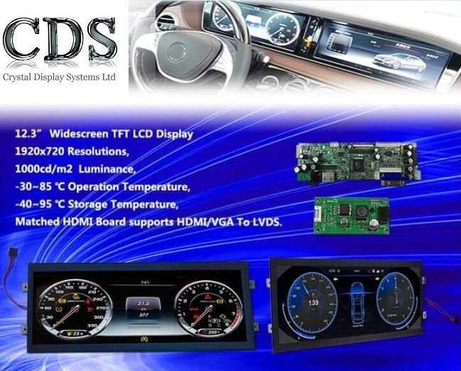12.3 inch tft automation