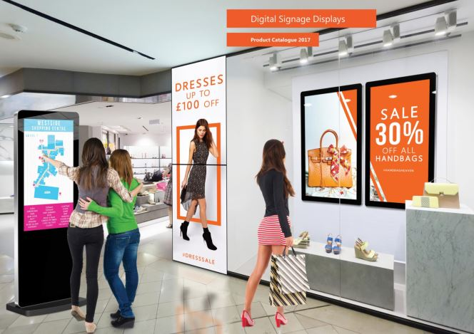 brand new digital signage brochure for 2017 crystal display systems