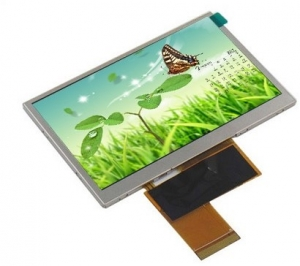 4.3 inch TFT LCD Display with IPS Viewing Angles