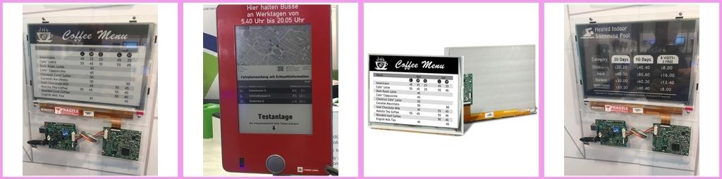 CDS epaper display modules