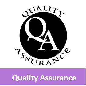 quality assurance button