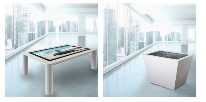 CDS Launch Sleek & Modern Multi User Interactive Touch Tables