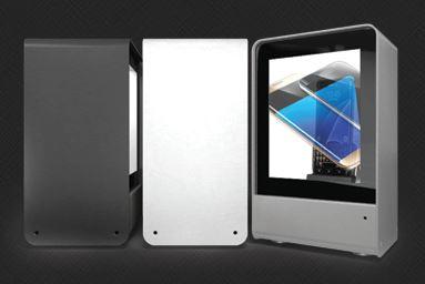 Small Premium Transparent LCD Showcase