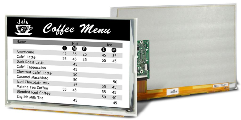 9-7 inch E-Paper Display from CDS