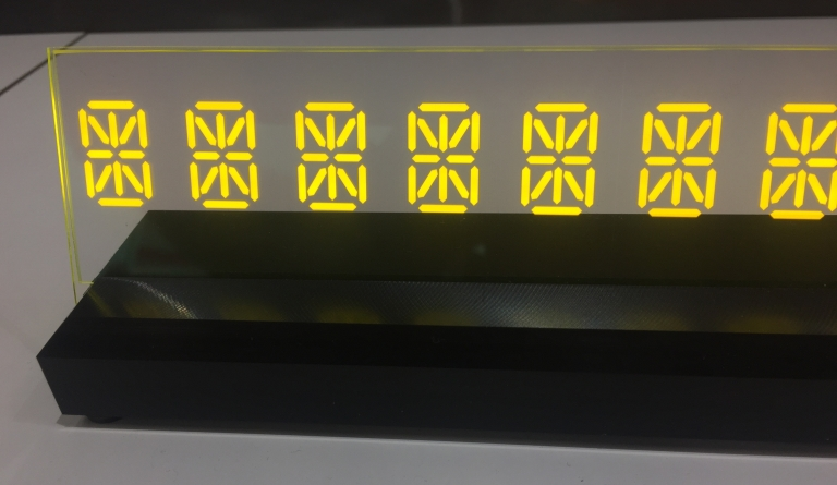 Laminated in Glass Transparent Displays