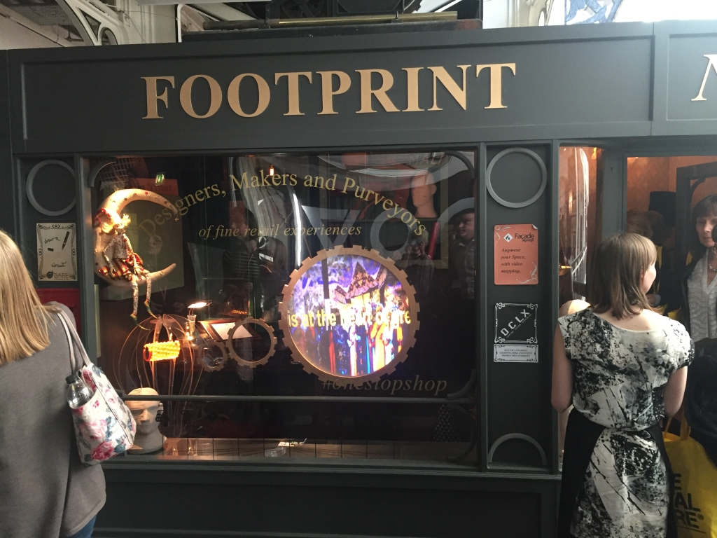 CDS help Footprint with transparent displays