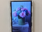 Letterbox industrial TFT LCD panel with Touch
