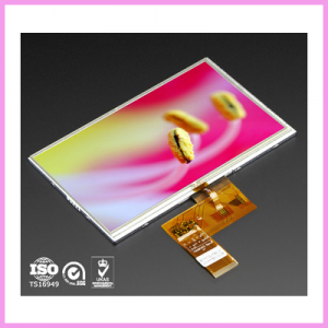 CDS Introduces 5 inch Letterbox Industrial TFT LCD Panel with Touch Screen Option