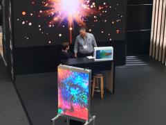 Transparent Displays at VM Display Show