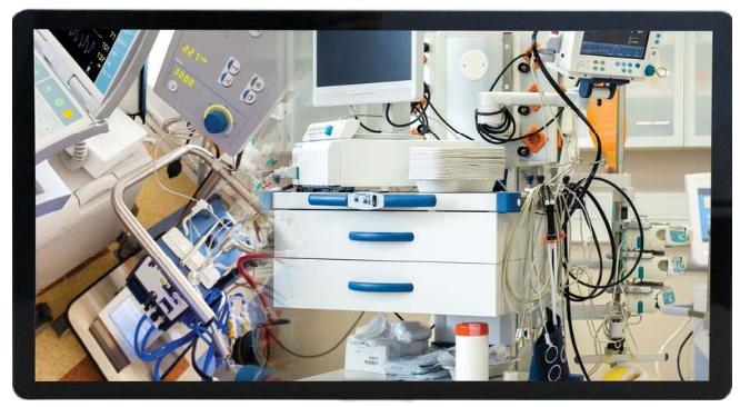 medical monitor display