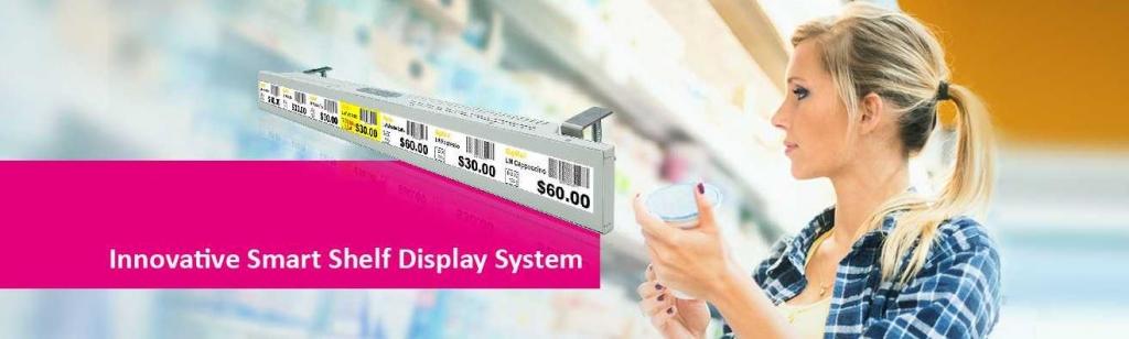 CDS shelf edge display
