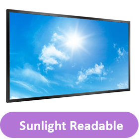 sunlight readable button
