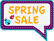CDS Spring Time Sale