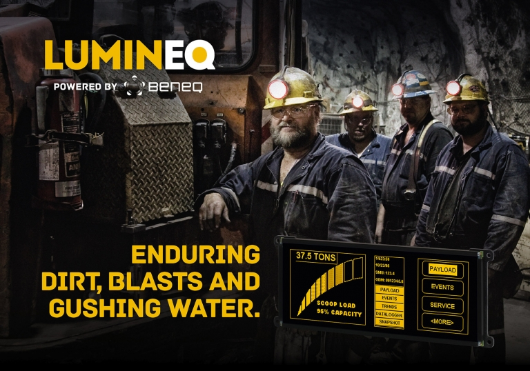 The unique performance characteristics of Lumineq EL Displays