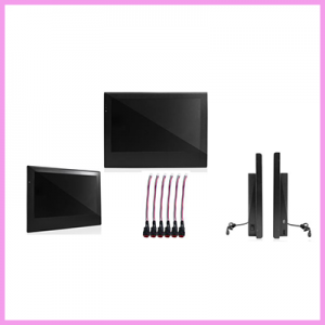 15.6 Inch LCD Advertising Displays with Button Function