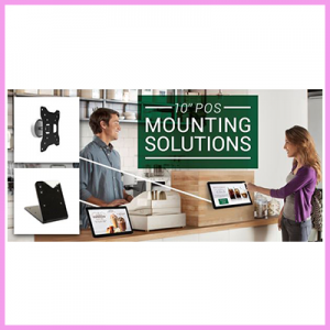 New Mounting Solutions for our POS Displays