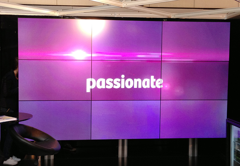 Video Wall displays from CDS