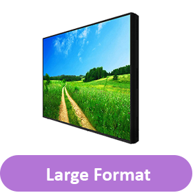 large format button