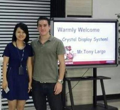 Tony Large of CDS - Quality control factory inspection in China