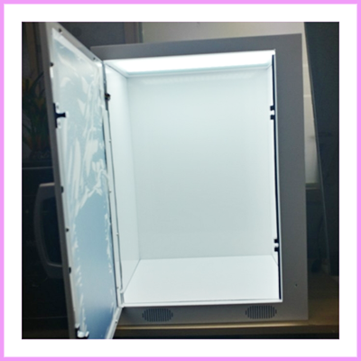 Do you need a custom Transparent showcase?