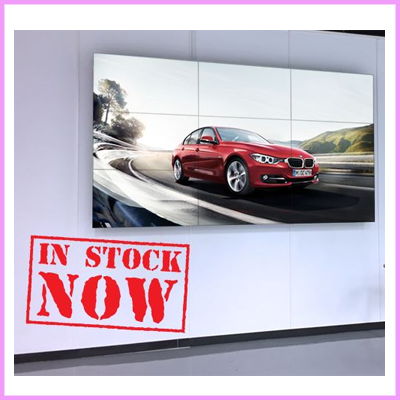 49″ and 55″ LCD Video Wall Displays for Hire and Purchase