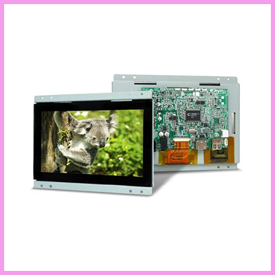 Low Cost 7 inch Media Player Solution with Housing