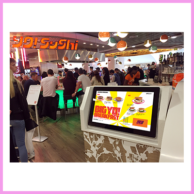 The Advantage of Digital Signage for Food Outlets