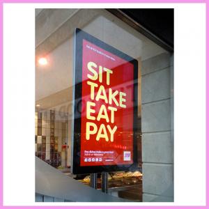 The Sleek & Modern 43″ Slimline Digital Advertising Display