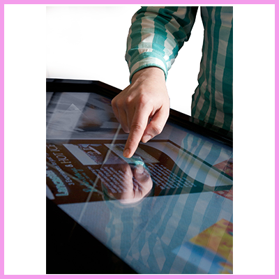 Crystal Displays Touch Monitors