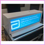 Customised Transparent Stretched Displays