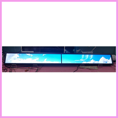Ultra Long Ultra Wide Stretched Displays