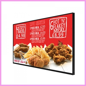 Networked Digital Menu Boards with FREE Network Subscription