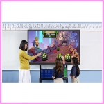 Interactive Touch Displays for the Classroom