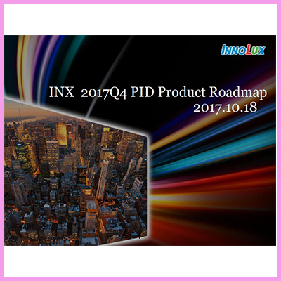 Innolux Large Format TFT Panel Product Roadmap