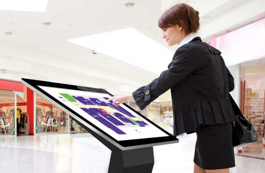 CDS PCAP touch kiosk application